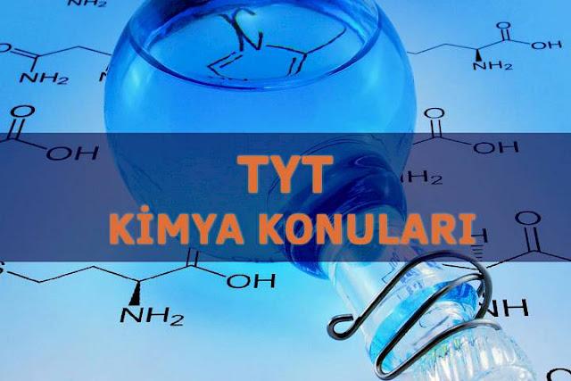 2018 tyt kimya konuları