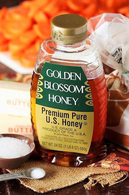 Honey Glazed Carrots Ingredients Image