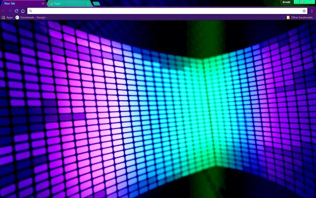 Lights Google Chrome Theme