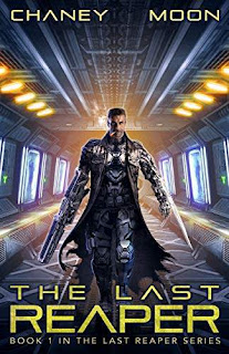 The Last Reaper, An Intergalactic Scifi Thriller book promotion website JN Chaney