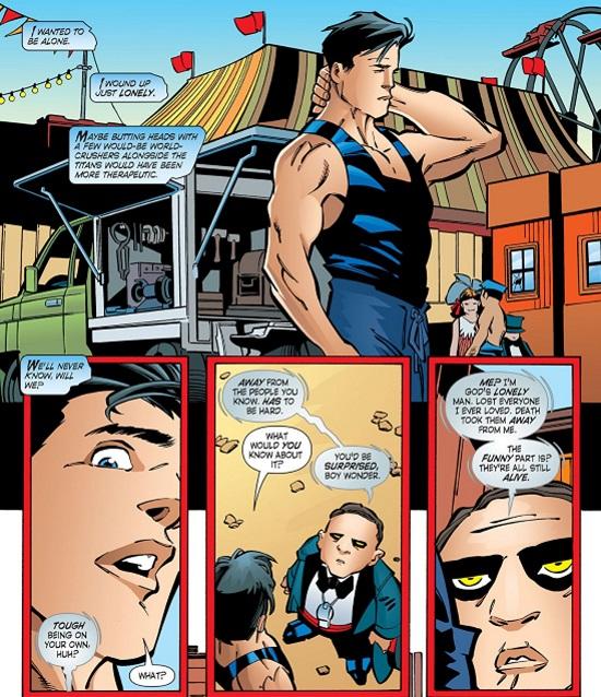 Colección Novelas Gráficas: Nightwing Año Uno
