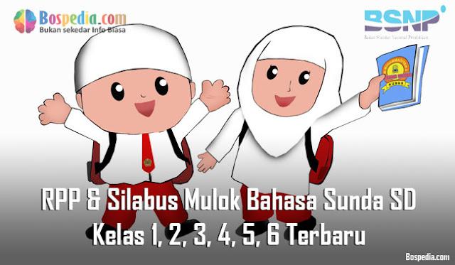 RPP & Silabus Mulok Bahasa Sunda SD Kelas 1, 2, 3, 4, 5, 6 Terbaru