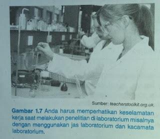 Keselamatan Kerja di Dalam Laboraturium