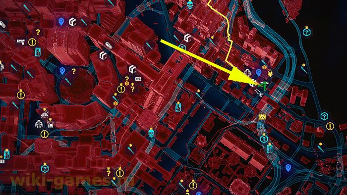 "Rare ""Gorilla Arms"" Location Map"