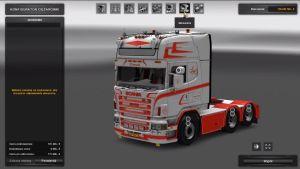 Truck - Scania R620 Jesper Hansen