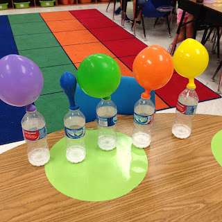 Cool Science Fair Projects For 5th Grade Idea Inflating Balloon