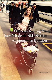 bareMinerals - SkinSorials - our day filming in London