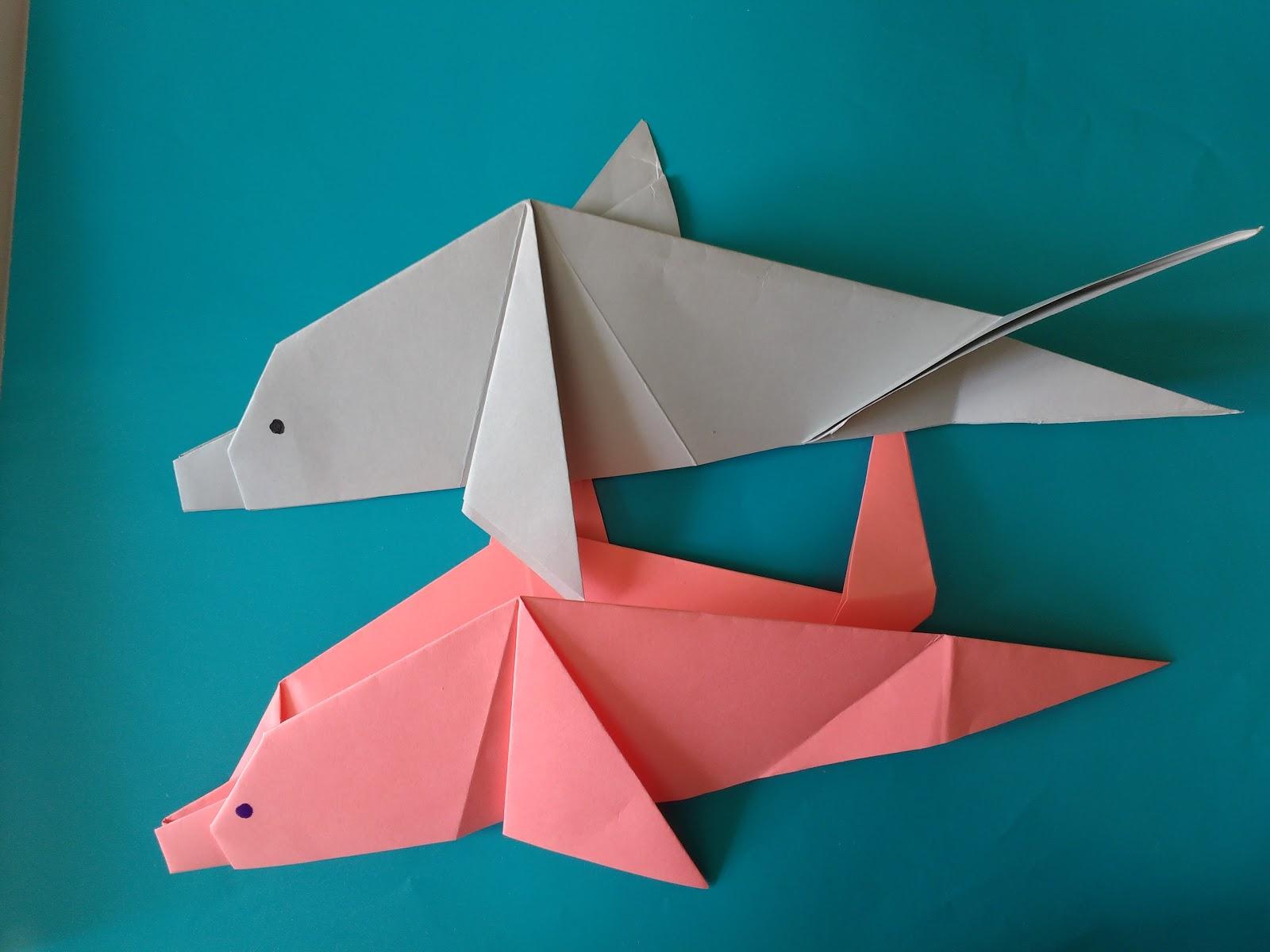 Como Hacer Delfin De Papiroflexia