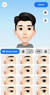 Cara membuat avatar di fb lite