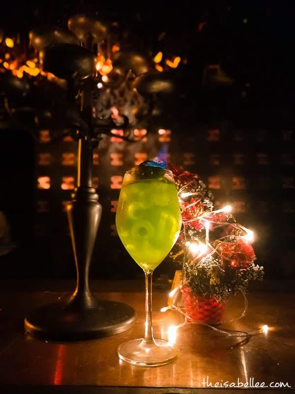 The Iron Fairies KL Green Fairy cocktail