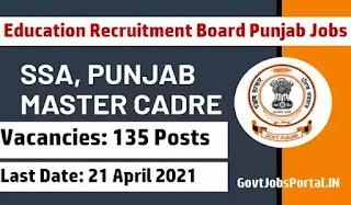 Education Recruitment Board Punjab Jobs