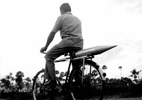 india's first rocket was brought on a cycle