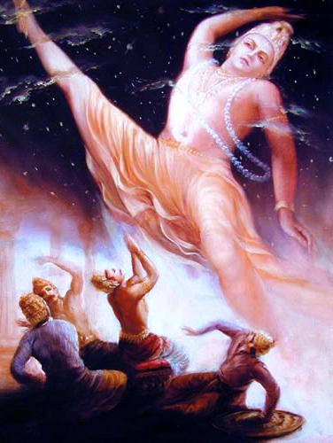 Vamana as Trivikrama
