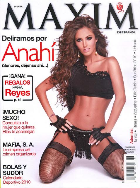 Anahi Maxim Enero 2010