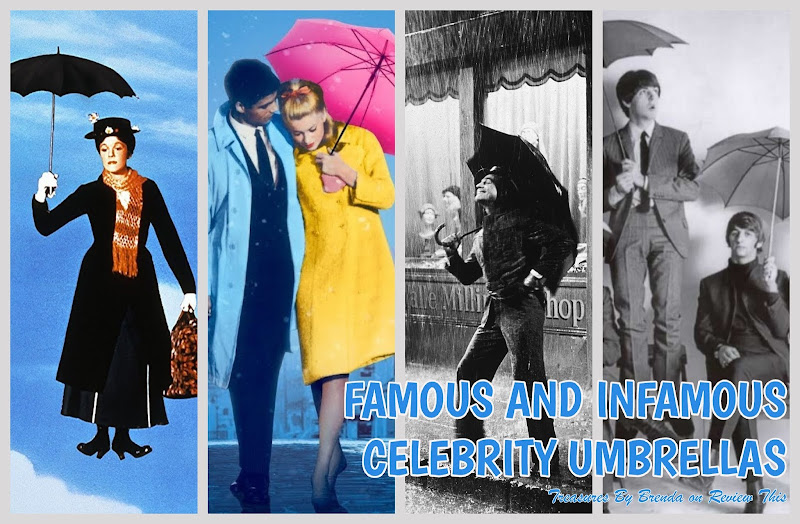 Famous and Infamous Celebrity Umbrellas