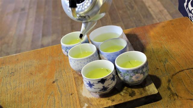 Degustation thé  - Aobara