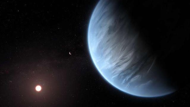 potansiyel olarak uygun bir eksoplanet atmosferinde ilk kez su tespit edildi