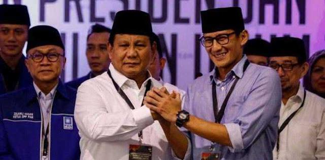 Prabowo-Sandi Kalah Tipis Di Jatim Versi Rekap BPP