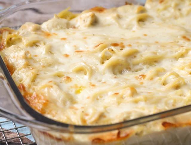Chicken Tetrazzini #dinner #pasta