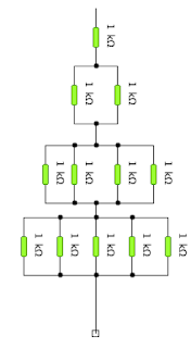 Cálculo de resistencias equivalentes. Ejercicios