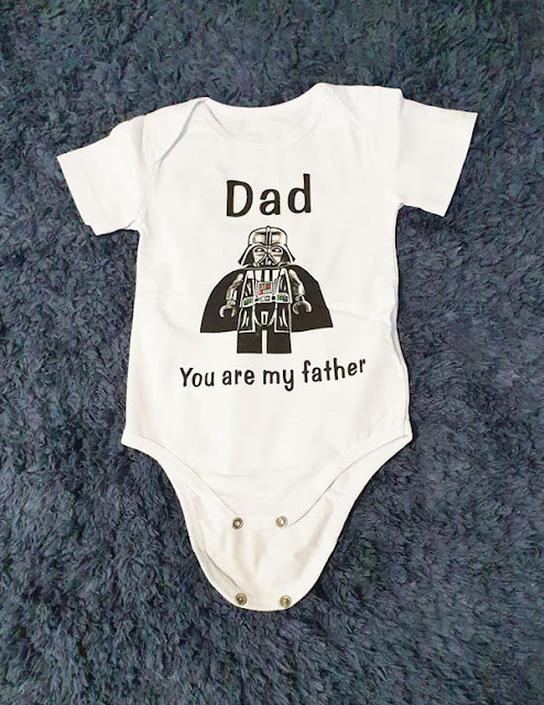Star Wars Themed Baby Onesie from Lavendersun