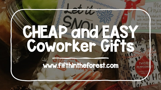 Pinnable image for  Cheap and Easy Coworker Gifts