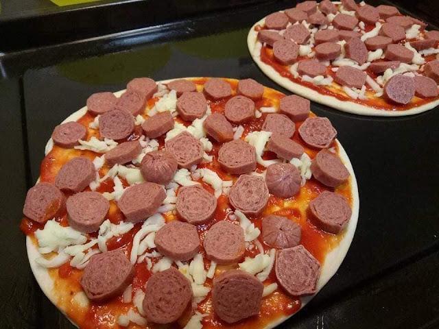 Cara Buat Pizza Homemade Segera Guna Roti Paratha