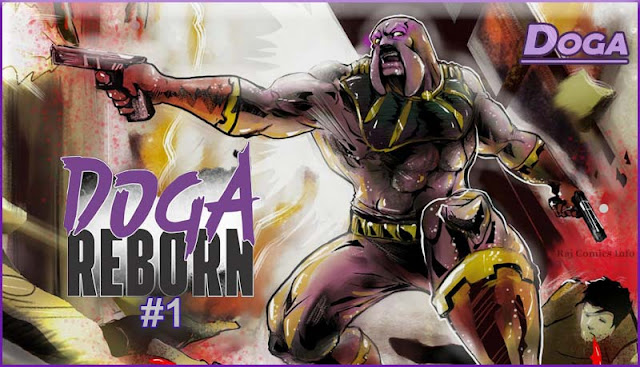Canine: Doga Reborn #1 New Form of Doga in New Comic Edition