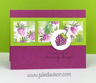 Stampin' Up! Sale-a-Bration 2021 Berry Blessing Bundle ~ www.juliedavison.com #stampinup #salebration #sab2021