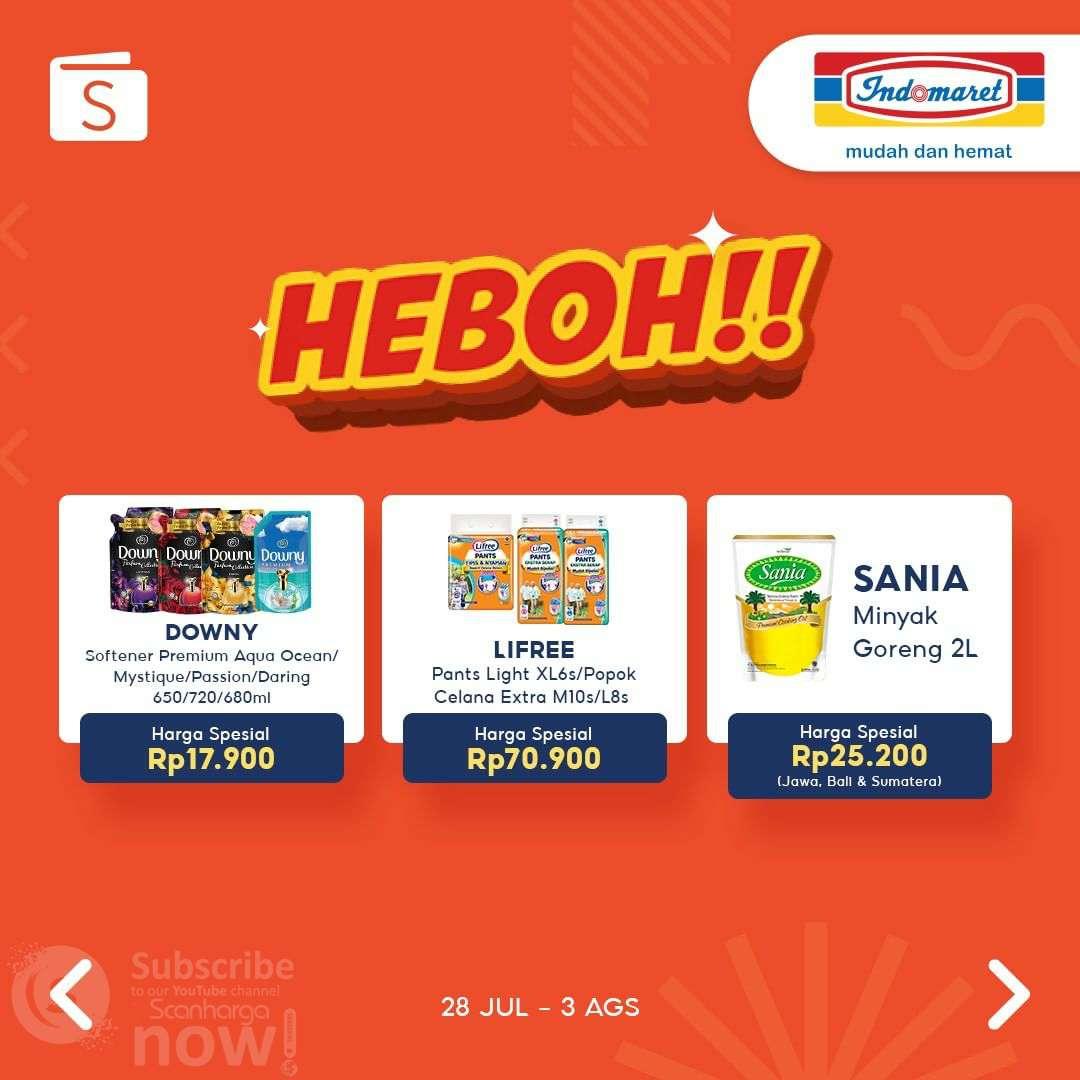 INDOMARET HEBOH Promo SHOPEEPAY EKSTRA DISKON Rp 2.000