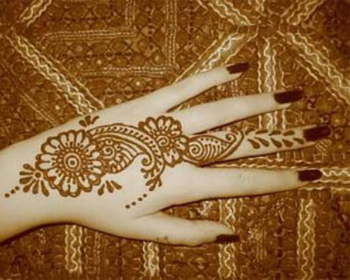 Mehndi Designs For Hands : Indian Mehndi Designs For Beginners