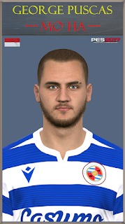 PES 2017 Faces George Puscas by Mo Ha