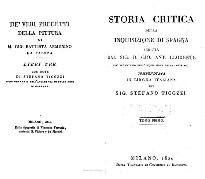 1bb1d3bb81 130) Il lavoro di Ticozzi come annotatore dei Veri Precetti della Pittura di  Armenini (Fonte: ...