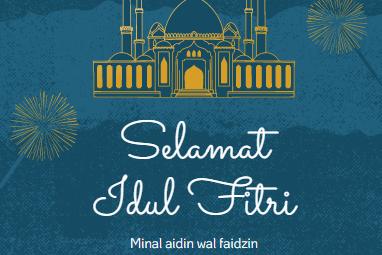 Sederetan Ucapan Selamat Hari Raya Lebaran Idul Fitri  1441 H/2020, Mantap Dibagikan di WA, IG, dan FB