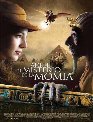 Ver Adèle y el misterio de la momia (2010) Online