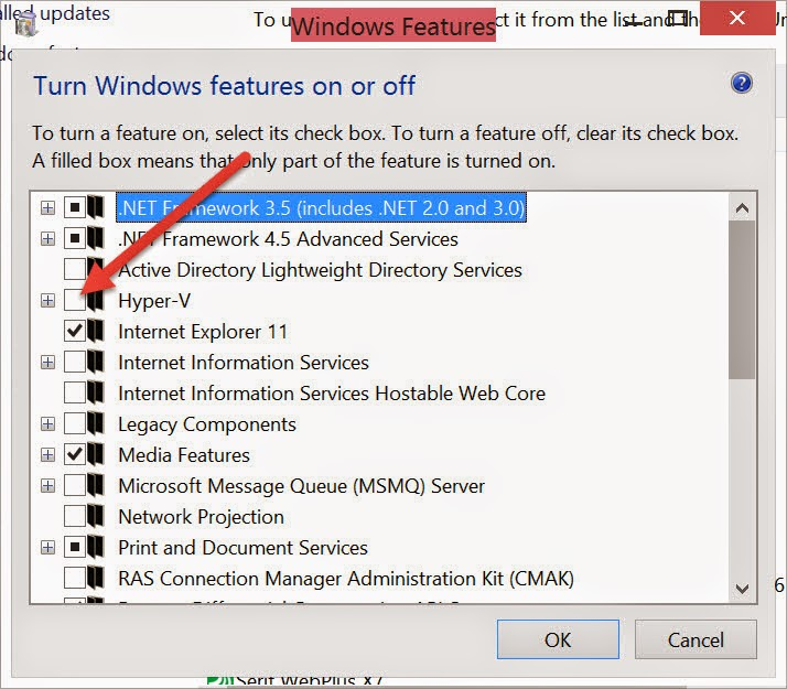 COMPUTERS AND OTHERS: How To Enable Hyper-V In Windows 8 1