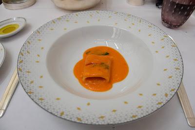 Paccheri restaurant Il Carpaccio (8 ème), blog Délices à Paris.