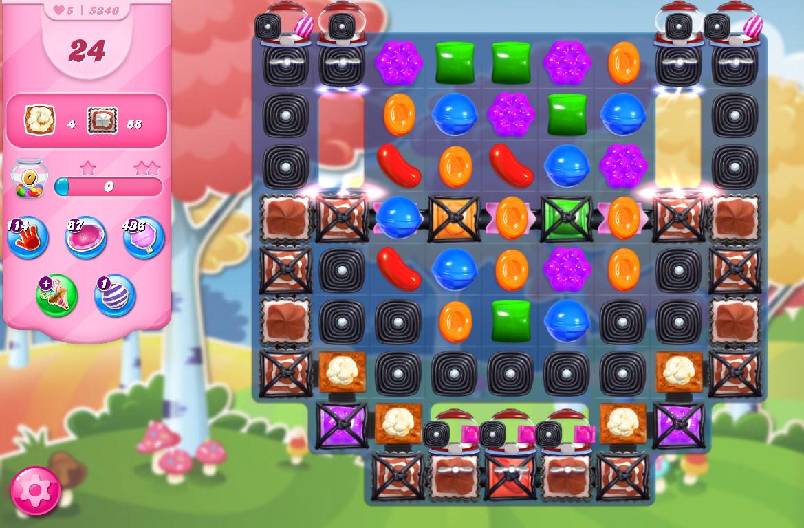 Candy Crush Saga level 5346