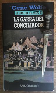 Portada del libro La garra del conciliador, de Gene Wolfe