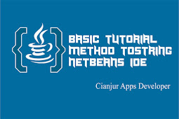 Cara Menggunakan Method toString pada Java