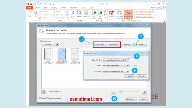 cara menggabungkan file pdf menjadi satu file dengan nitro pro