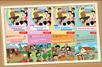 Unduh Buku Tematik K13 Kelas 3 SD/MI Tahun 2020
