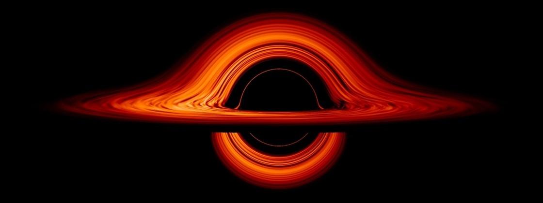 Galáxias são iluminadas por buracos negros em seus centros.