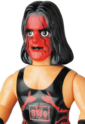 NWO Wolfpac Sting Sofubi Vinyl Figure by Medicom Toy x WWE