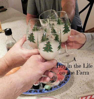 toasting with sake