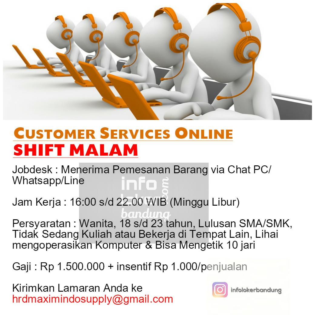 Lowongan Kerja CV.Maximindo Supply Februari 2017