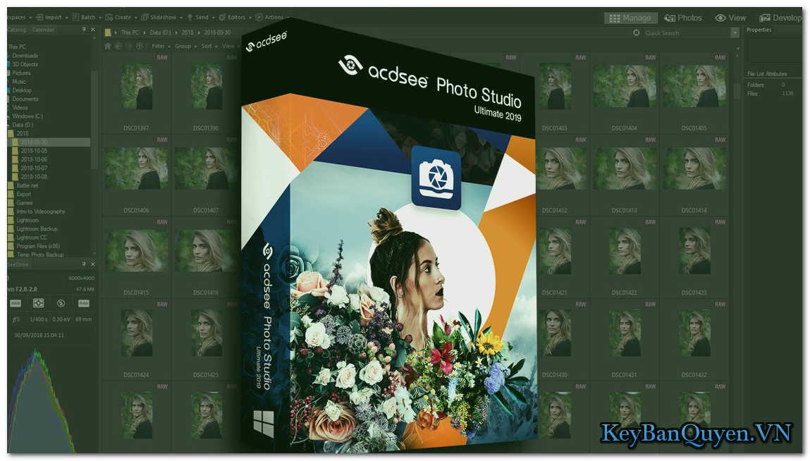 Tải và hướng dẫn cài đặt ACDSee Photo Studio 2019 Full Key, Phần mềm quản lý và chỉnh sửa ảnh tuyệt vời.