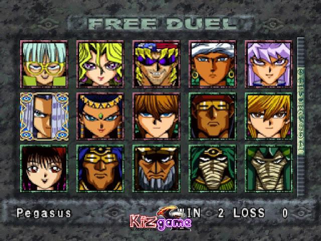 تحميل لعبة يوغي Yu-Gi-Oh! Forbidden Memories