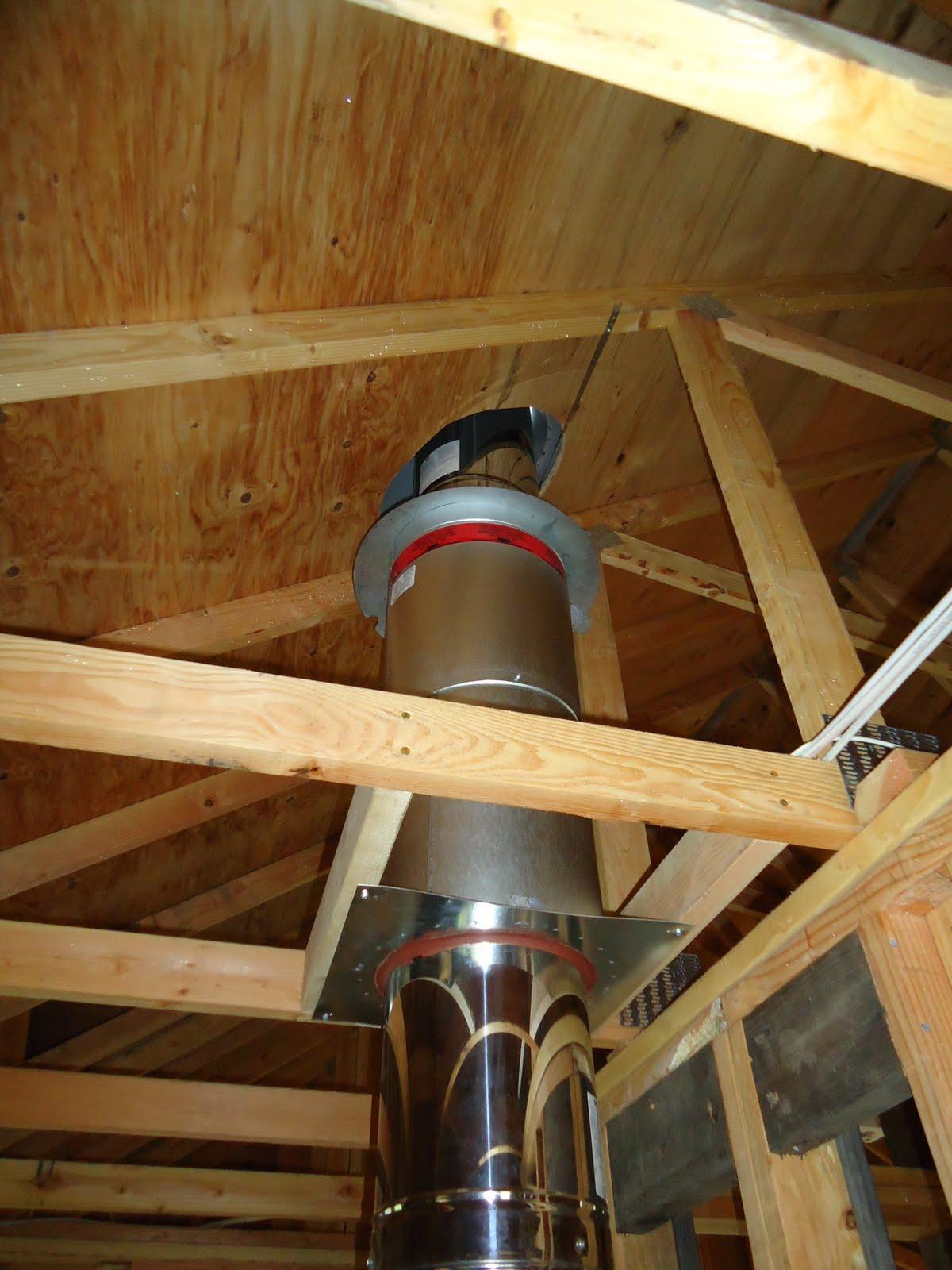 Installing Stove Pipe Through Roof - Acpfoto