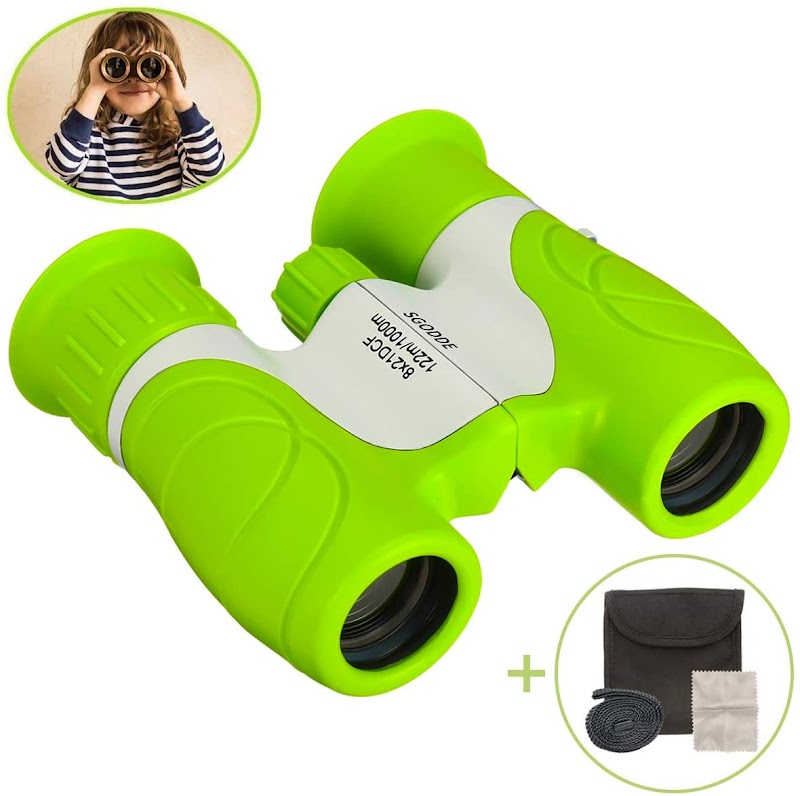 45%OFF  8x21 Kids Binoculars, Small Binoculars-Shock Proof,Waterproof